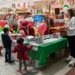 Evento Conad, tavolo divertimenti per il bambini