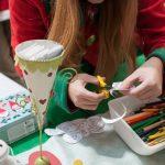 Evento Conad, preparazione di materiali per i bambini