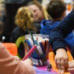 Evento Conad, tavolo con pennerelli