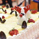 Evento Conad - 20 anni insieme. particolare decorativo della torta rappresentato da un'alce