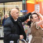 Evento Conad - due clienti danzano