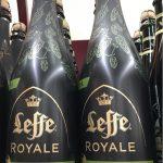 Bottiglie di birra Leffe