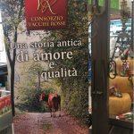 Poster Parmigiano Reggiano da latte vacche rosse