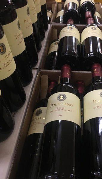 Cassette di vino Poliziano
